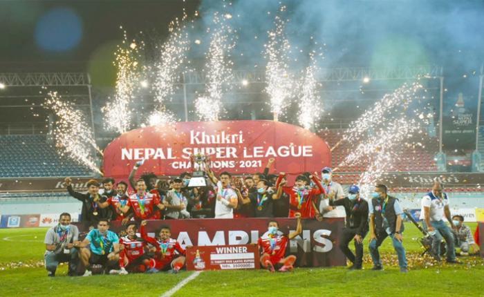 काठमाडौं रेजर्स एफसी नेपाल सुपर लिग च्याम्पियन