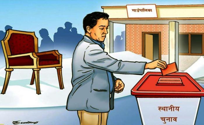 प्यघौ ई मजुनि ः मतदान क्वचाल